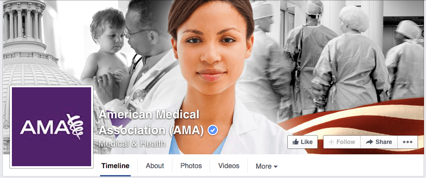 the AMA facebook page